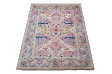 "9X12 Oushak Hand-Knotted Wool Rug Purple Plum Oriental Carpet (8'11"" x 11'9"")"