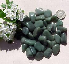 12 Stunning Green Chalcedony Crystal Tumblestones