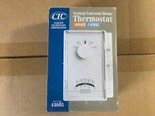 CTC Vertical Universal Room Thermostat <> Heat Cool <> Model 43005 - NIB