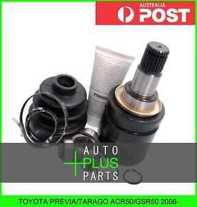 Fits TOYOTA PREVIA/TARAGO ACR50/GSR50 2006- - Inner Joint Left Hand LH 27x50x24