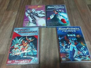 Transformers Cartoon DVD Collection Of 4