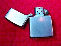 Zippo Lighter XI Brushed Chrome ZIPPO MFG. CO. Bradford PA. MADE IN ZIPPO U.S.A.