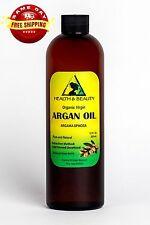ARGAN OIL UNREFINED ORGANIC EXTRA VIRGIN MOROCCAN COLD PRESSED RAW PURE 16 OZ