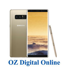 "NEW Samsung Galaxy Note 8 Dual Sim N950 64GB Gold 4G 6.3"" Unlocked Phone 1YrWty"