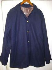 * Replica * Wool Civil War Button Up Coat * Made By C & D Jarnagin *