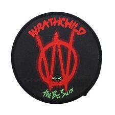 Wrathchild '80s Album Logo UK Hair Band Glam Metal Music Sew On Applique Patch