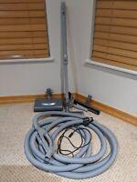 Honeywell Central Vac Vacuum Power Head Nozzle + 30' Hose + Vac Tools