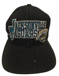Vintage Starter Pro Line Jacksonville Jaguars Hat Spellout Cap Jaguar Logo Read