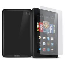 """Funda de Gel para NUEVO 2014 Kindle Fuego HD 6 6"""" Tableta + PROTECTOR PANTALLA"""