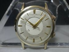 Vintage 1958-60 CITIZEN mechanical watch [Citizen Alarm] 19J 14KGF/SS
