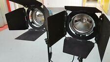 ARRILITE 800W REDHEAD LIGHTS/ARRI WITH CASE FOR TV/BROADCAST/AV AUDIO VISUAL