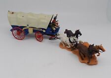 Vintage Britain's Ltd. Wild West Models Pioneer Covered Wagon 7616 1972 TOY