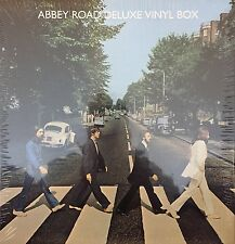 The Beatles - Abbey Road Deluxe Vinyl Box LP + XL APPLE T-SHIRT + POSTER SEALED