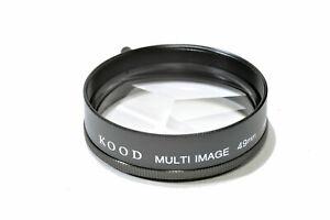 Kood Multi image x3 Filter Made in Japan 49mm (UK Stock) BNIP suits 49mm Filter