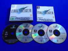 ps1 FINAL FANTASY 7 VII PLAT ++  Boxed COMPLETE PAL Playstation ps2 ps3