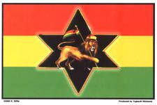 40033 Lion Of Judah Zion Rasta R. Biffle Rasta Haile Selassie I Sticker / Decal