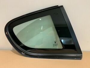 MASERATI GRANTURISMO M145 REAR RIGHT QUARTER GLASS PANEL WINDOW 80088200