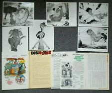 the jungle book rare 1983 re release original uk press kit press photos synopsis
