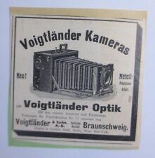 Advertising, Advertising, Camera, 1914, Voigtländer Look Braunschweig (64529)