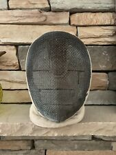 Vintage Castello Fencing Helmet Mask Distressed Decor Art Unique