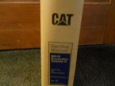 Caterpillar M318 Excavator Service manual  II Vol 2 s/n 8AL