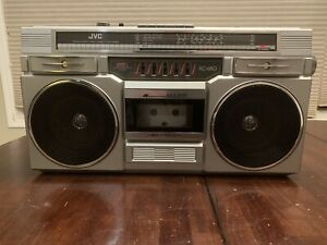 JVC RC-680 Vintage Cassette Radio Boombox Ghetto Blaster - Please Read