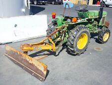 John Deere Model 650 Tractor w/ Woods Scraper, Rbc, Yanmar, Diesel 2T8Uj
