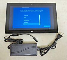 "Microsoft Surface Pro 2 1601 10.6"" 4GB RAM 128GB 1.9 GHz i5-4300U Win 10 Pro"
