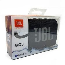 JBL Go 3 Portable Bluetooth Waterproof Speaker - Black