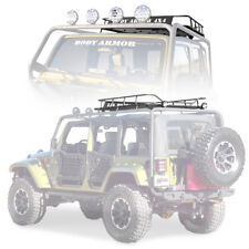 Body Armor 4X4 Cargo Basket 97-17 Jeep Wrangler TJ LJ JK JKU 5124 Black