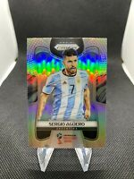 Sergio Aguero 2018 Panini Prizm World Cup Holo Silver #11 Argentina Man City