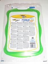 Ardoise Velleda BIC Verte Spéciale Kids + Crayon 19x26 cm Effacable à Sec NEUF