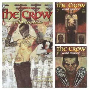 °THE CROW: WILD JUSTICE 1 bis 3 von 3 °US Kitchen Sink Press 1996 Jerry Prosser