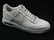 Hombre Nike Air Force 1 Elite Casual Moda Deportes entrenadores de cuero blanco tamaño 9