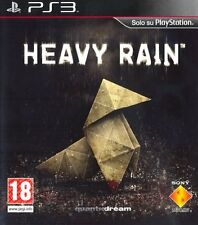 1 GIOCO CONSOLE PLAYSTATION PS 3 GAME MOVIE FILM INTERATTIVO/HEAVY RAIN + GUIDA