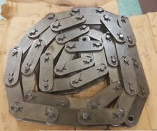 C2120 COTTERED HEAVY ROLLER CHAIN 10FT NEW USA(ATLAS) W/FREE CONNECTOR LINK
