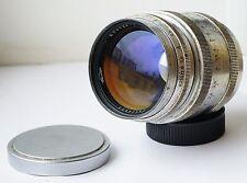 KMZ! Jupiter-9 2/85mm Silver RF Telephoto lens Sonnar copy M39 for Leica Zorki