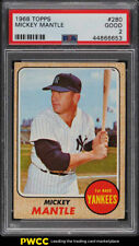 1968 Topps Mickey Mantle #280 PSA 2 GD