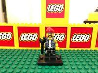 LEGO THE MOTORCYCLE MECHANIC figure LEGO MINIFIGURE SERIES 10 complete