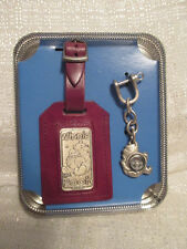 Walt Disney World Store Winnie The Pooh Bag Tag Key Chain And Compass