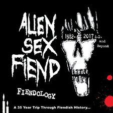 FIENDOLOGY  A 35 YEAR TRIP TH - ALIEN SEX FIEND [CD]