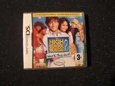 NINTENDO DS HIGH SCHOOL 2 MUSICAL- GAME GIOCO MUSICA NINTENDO