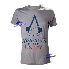 Tshirt ASSASSIN'S CREED UNITY gris taille L pour homme NEUF man new grey