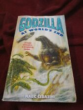 Godzilla at World's End by Marc Cerasini (1998, pb) Megalon Gigan Manda Hedorah