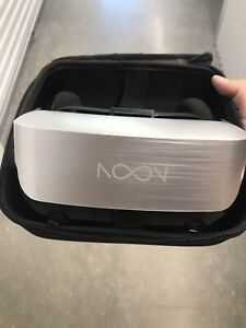 NOON Pro VR Headset with BLACK ZIP CASE UNTESTED USED