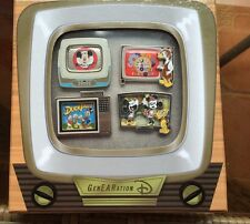 genearation d pins Tv Set Four Pin Set Limited To 300 Duck Tails