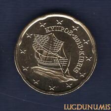 Chypre 2018 20 Centimes D'Euro SUP SPL Pièce neuve de rouleau - Cyprus