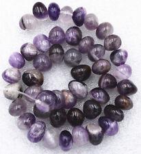 "New 8x10mm Russican natural amethyst Irregular-Shape beads loose 15"""