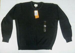 NWT Field & Stream Men's Charcoal Crewneck Pullover Sweater Sz. XXL