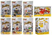 Disney Ducktales Complete Set 8 Figures - Scrooge Money Bin - Sunchaser Plane